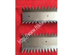 Long Packaging Perforating / Cut Off Knife Blade
