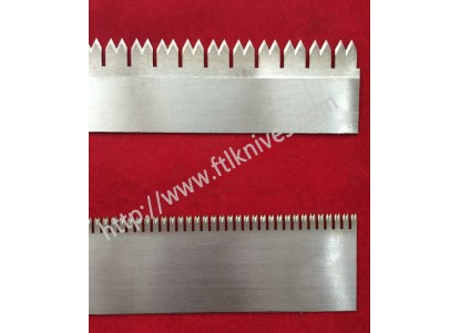 Long Saw Toothed Cutting Knife Blade