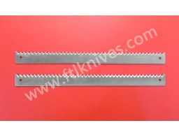 Long Flat / Straight Saw Toothed Cut Knife Blade