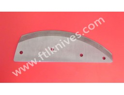 Curved Cutting Knife Blade
