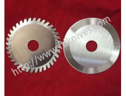 Scalloped Edge and Circular Slitter Blades