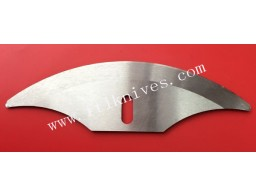 Curved Industrial Razor Blade