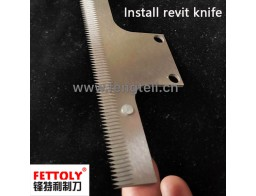 HSS teeth vertical knife with revit